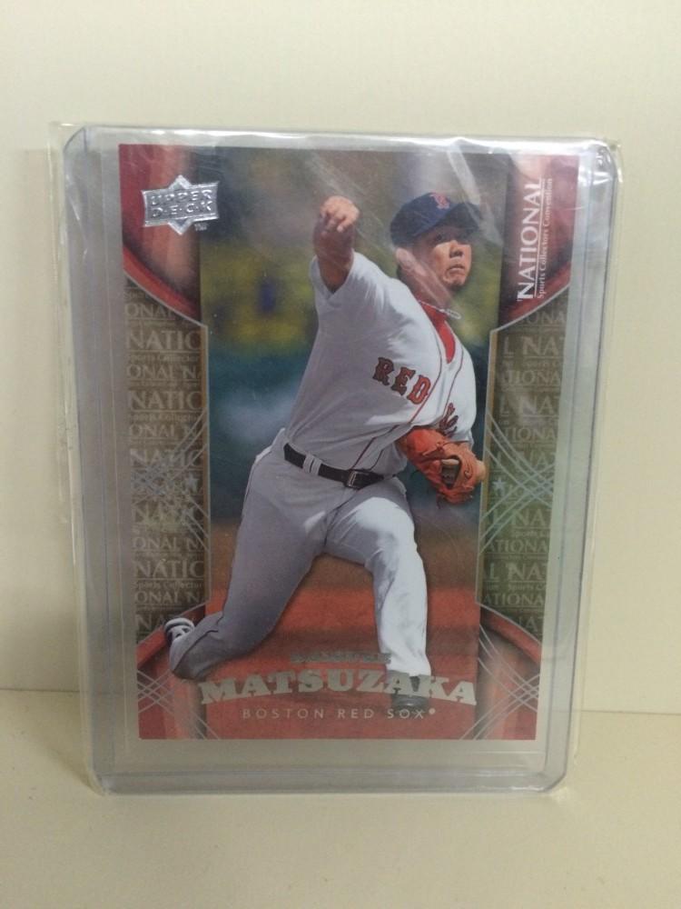松坂大輔 MLB 野球カード レッドソックス時代