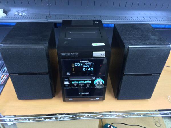 【家電買取】Panasonic CD/MD/SD/カセットコンポ 【SA-PM710SD 】